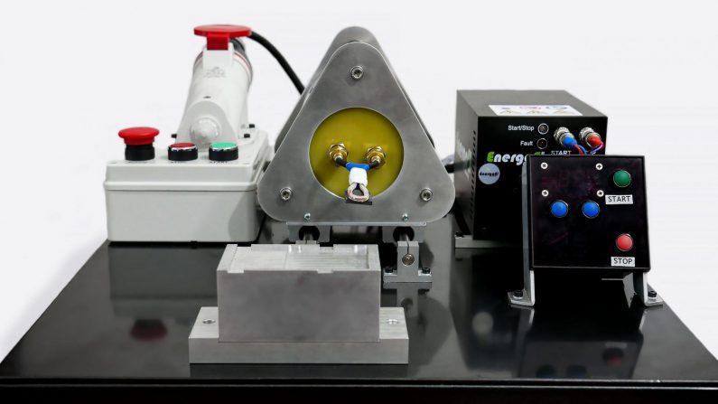 Nowocześnie zaprojektowana nagrzewnica indukcyjna IHM jako jeden z czołowych produktów przedsiębiorstwa Energoel